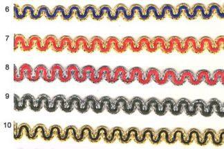 Тесьма вязаная отделочная «Змейка»